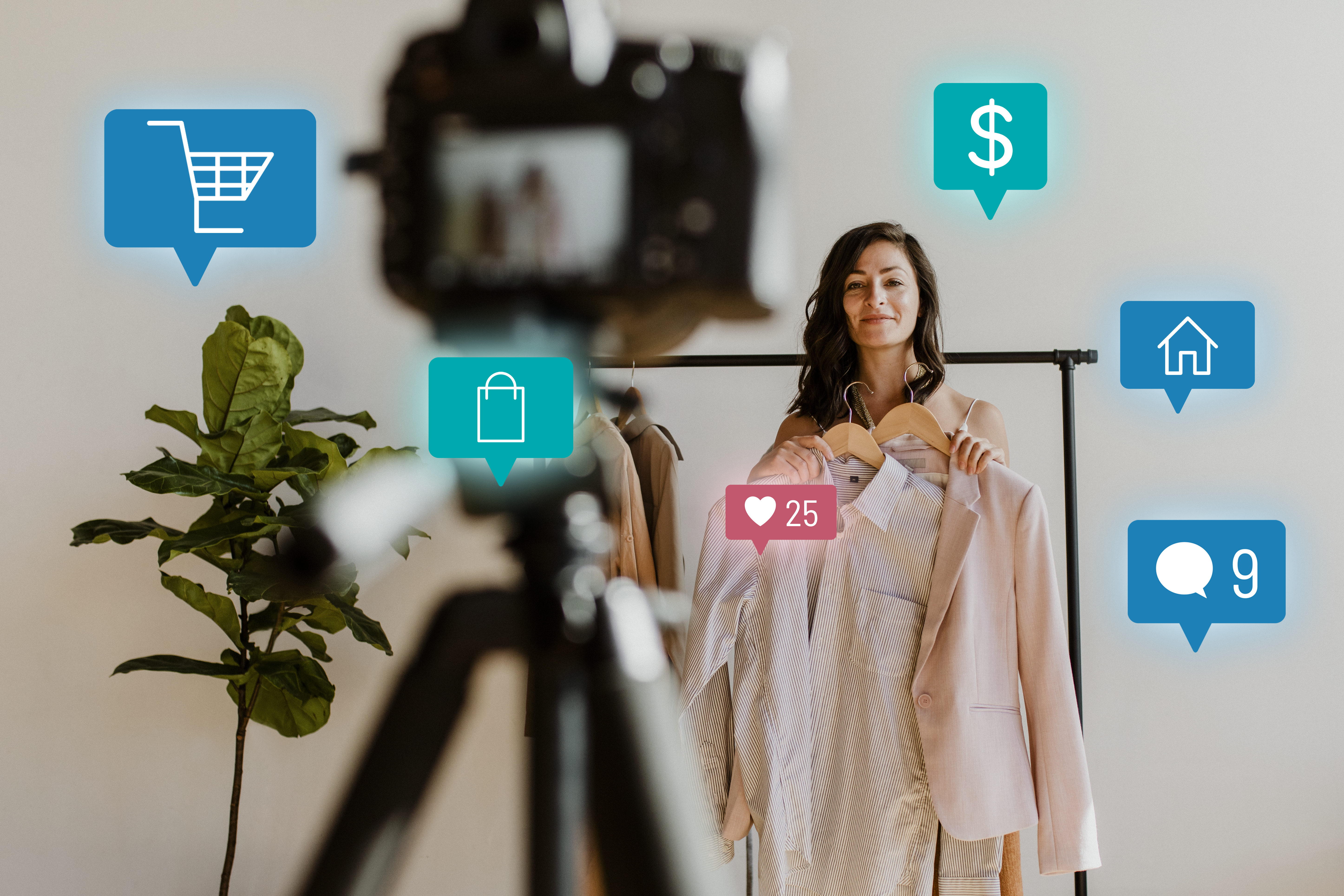 woman-live-streaming-online-shopping-campaign